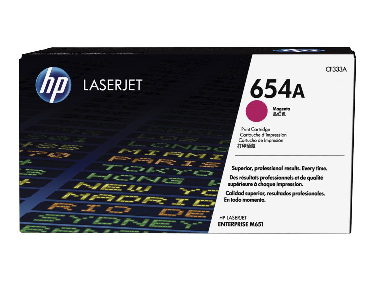 HP 654A - magenta - originale - LaserJet - cartouche de toner (CF333A)