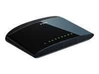 D-Link DES 1008D Switch ikke administreret 8 x 10/100 desktop