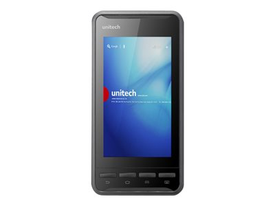 "Unitech PA700 - Data collection terminal - Android 4.3 (Jelly Bean) - 8 GB eMMC - 4.7"" color IPS ( 1280 x 720 ) - rear camera - barcode reader - ( 2D imager ) - USB host - microSD slot - Wi-Fi, Bluetooth, NFC - 3G"