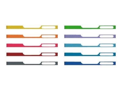 Exacompta MODULO Classic mini - 10 Panneaux avant d'armoire à tiroir - A4 - couleurs assorties