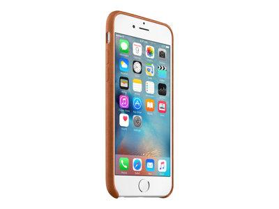 Apple - Zadní kryt pro mobilní telefon - kůže - tmavě hnědá - pro iPhone 6, 6s