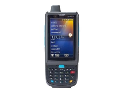 "Unitech PA692 - Data collection terminal - Win Embedded Handheld 6.5 - 512 MB - 3.8"" color TFT (800 x 480) - rear camera - barcode reader - (2D imager) - microSD slot - Wi-Fi, Bluetooth - 3G"