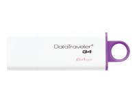 Kingston DataTraveler G4 USB flashdrive 64 GB USB 3.0 violet