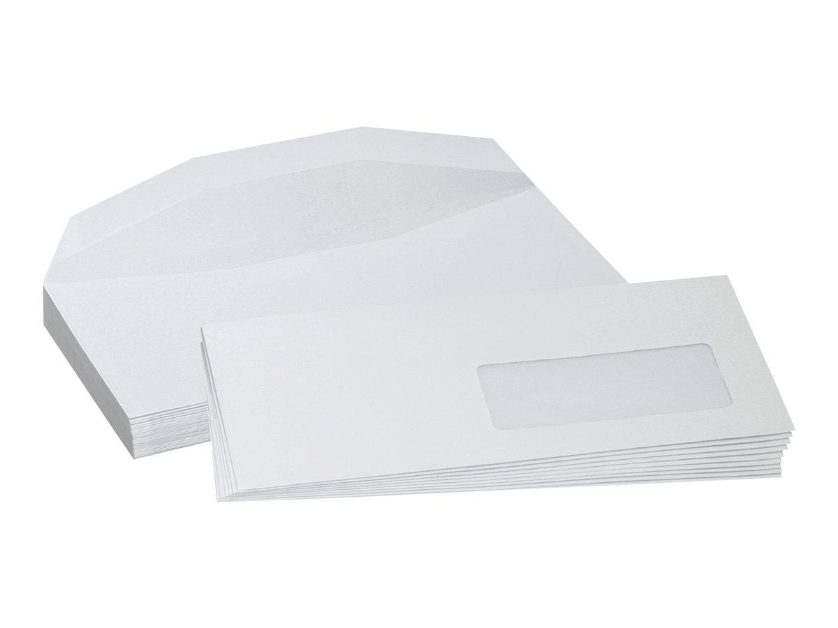 La Couronne - 1000 Enveloppes -114 x 229 mm- gommé - mécanisables - 1 fenêtre