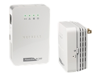 NETGEAR Powerline AV 200 Wireless-N Extender Kit XAVNB2001