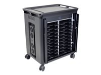 HP 20-Notebook Charging Cart - V2 - cart charge and management for 20 notebooks - for EliteBook 735 G6, 745 G6, 830 G6, 840 G6, 850 G6; ProBook 445r G6, 455r G6, 640 G5, 650 G5