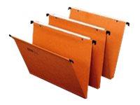 Fast Standard - 25 Dossiers suspendus - pour tiroir - 30 mm - orange