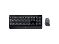 Logitech Wireless Performance Combo MX800 - ensemble clavier et souris - français