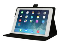 Max Cases Guardian Case - Flip cover for tablet - black - for Apple iPad Air