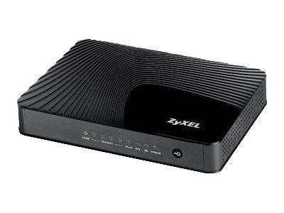 Image of ZyXEL AMG1302-T10B - wireless router - DSL modem - 802.11b/g/n - desktop