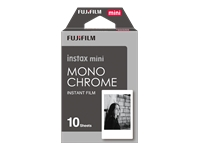 Fujifilm Instax Mini Monochrome - Black & white instant film - ISO 800 - 10 exposures