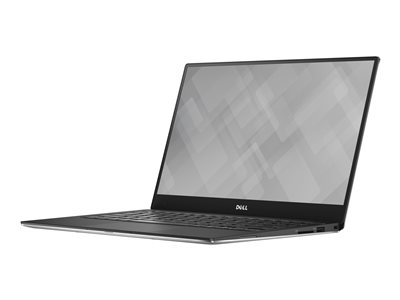"Dell XPS 13 9360 - Core i7 7560U / 2.4 GHz - Win 10 Pro 64-bit - 8 GB RAM - 256 GB SSD - 13.3"" touchscreen 3200 x 1800 (QHD+) - Iris Plus Graphics 640 - Wi-Fi, Bluetooth - silver - BTP - with 1 Year Dell ProSupport"