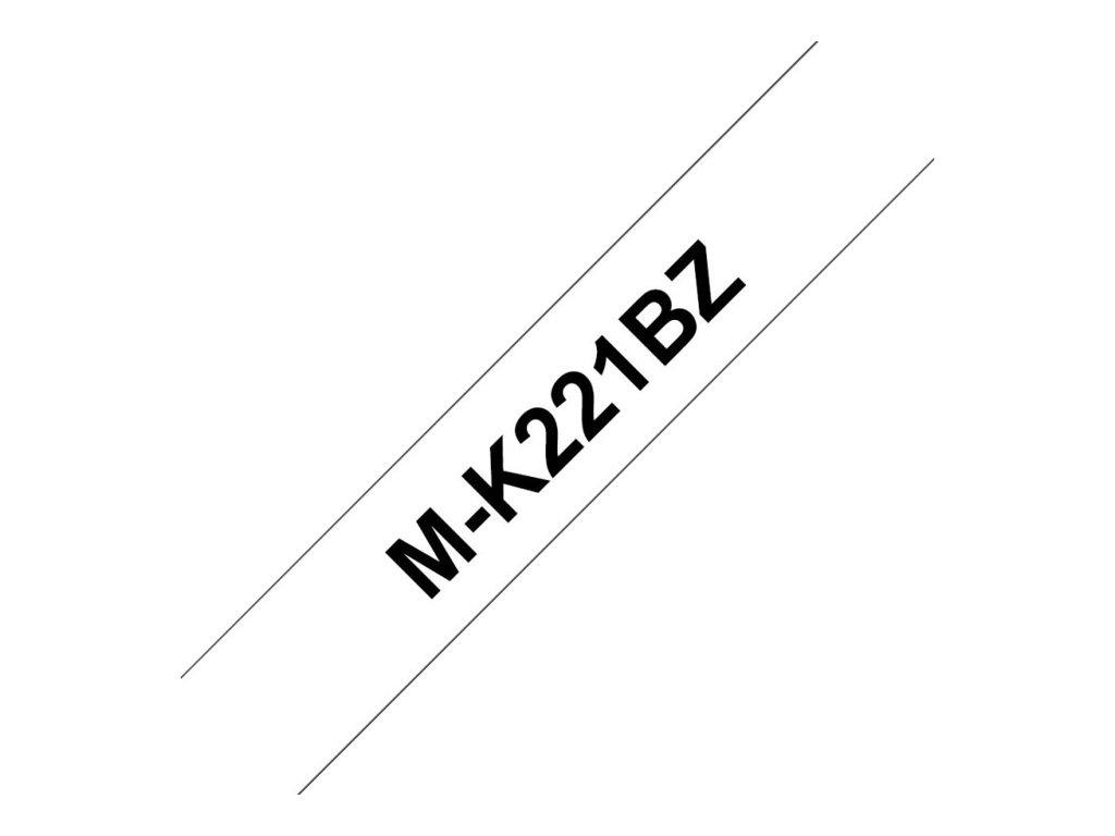 Brother MK 9 mm - Ruban d'étiquette auto-adhésives - Différents coloris