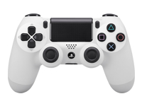 Sony Dual Shock 4 Gamepad trådløs Bluetooth Glacier White