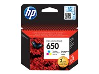 HP 650 Tri-colour Ink Cartridge EU