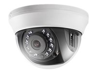 Hikvision - Turbo 720p Dome Camera 2.8mm IR 20m Metal - Indoor