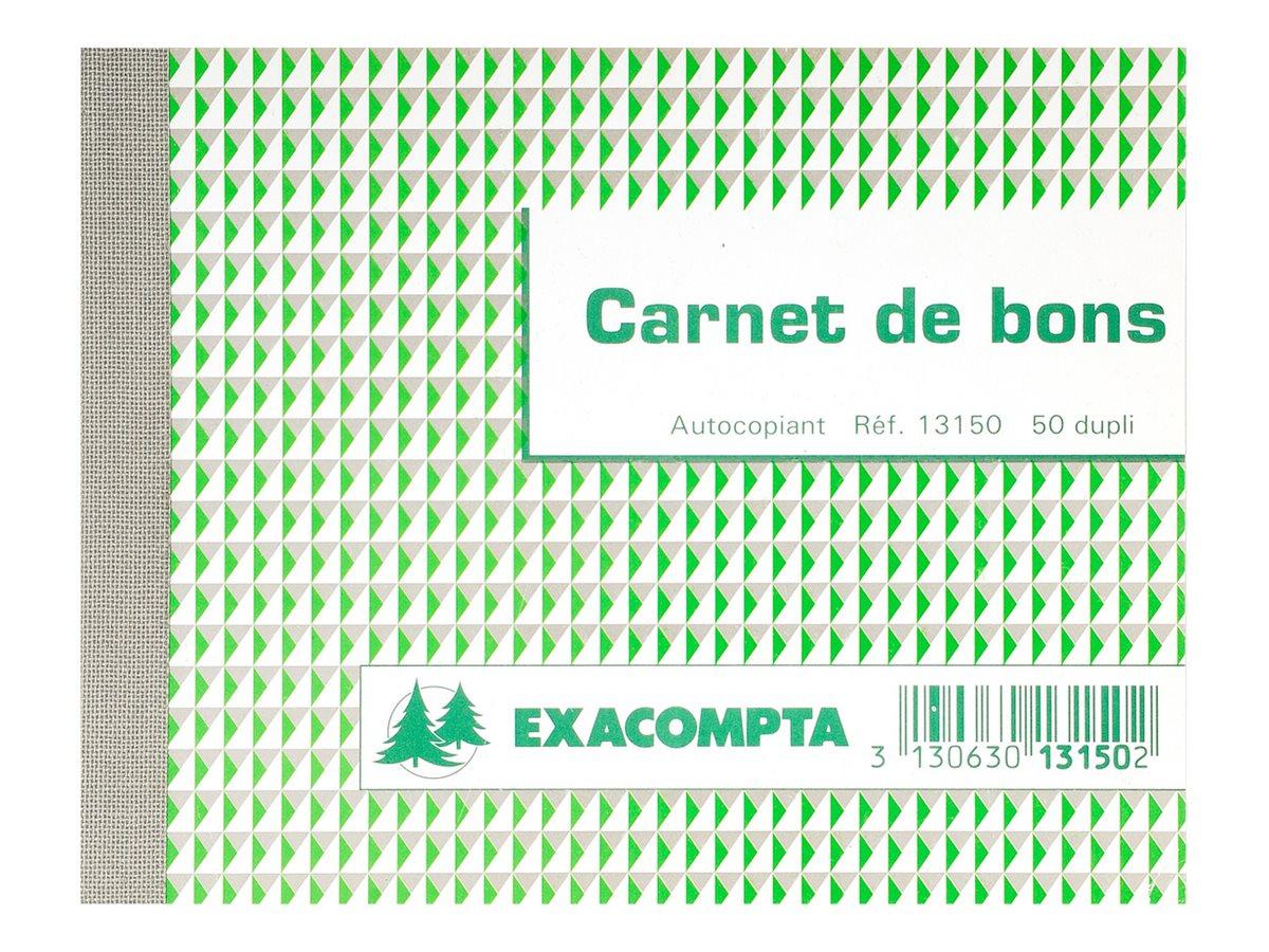 Exacompta - carnet de coupons
