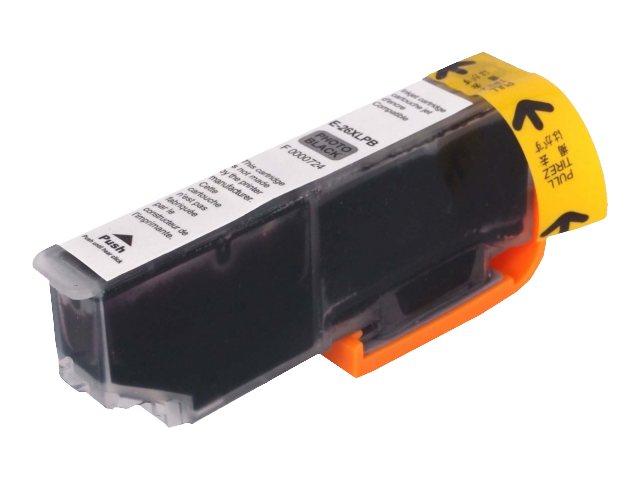 Epson T26XL Ours polaire compatible Uprint - à rendement élevé - noiree photo - cartouche d'encre