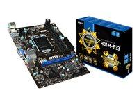 MSI H81M-E33 - Motherboard - micro ATX