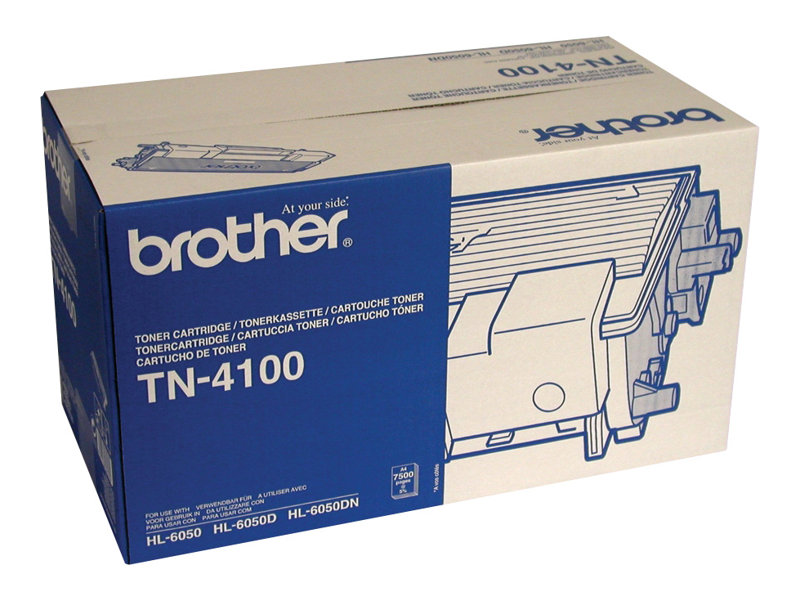 Brother TN4100 - noir - originale - cartouche de toner