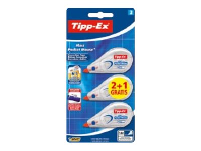 Tipp-Ex Mini Pocket Mouse - rouleau correcteur