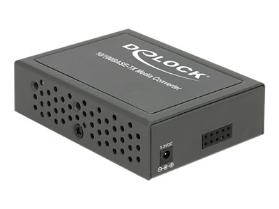 DeLOCK Fast Ethernet Media Converter - Konvertor médií s optickými vlákny - Fast Ethernet - 10Base-T, 100Base-FX, 100Base-TX - RJ-45 / SC několik režimů - až 2 km - 1310 nm