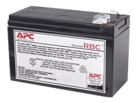 APC Replacement Battery Cartridge #110 UPS-batteri 1 x Blysyre sort