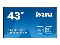 """Iiyama ProLite LE4340S-B1 43"""" écran DEL"""