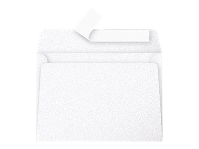 Pollen - Enveloppe - 114 x 162 mm - avec bande (auto-adhésif) - blanc perle - pack de 20