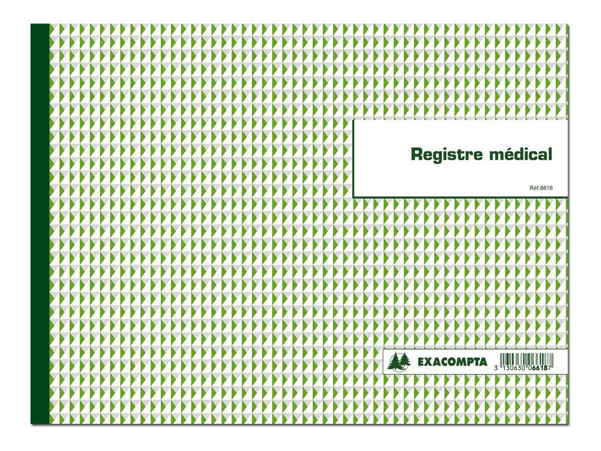 Exacompta - registre pour professions (para)médicales