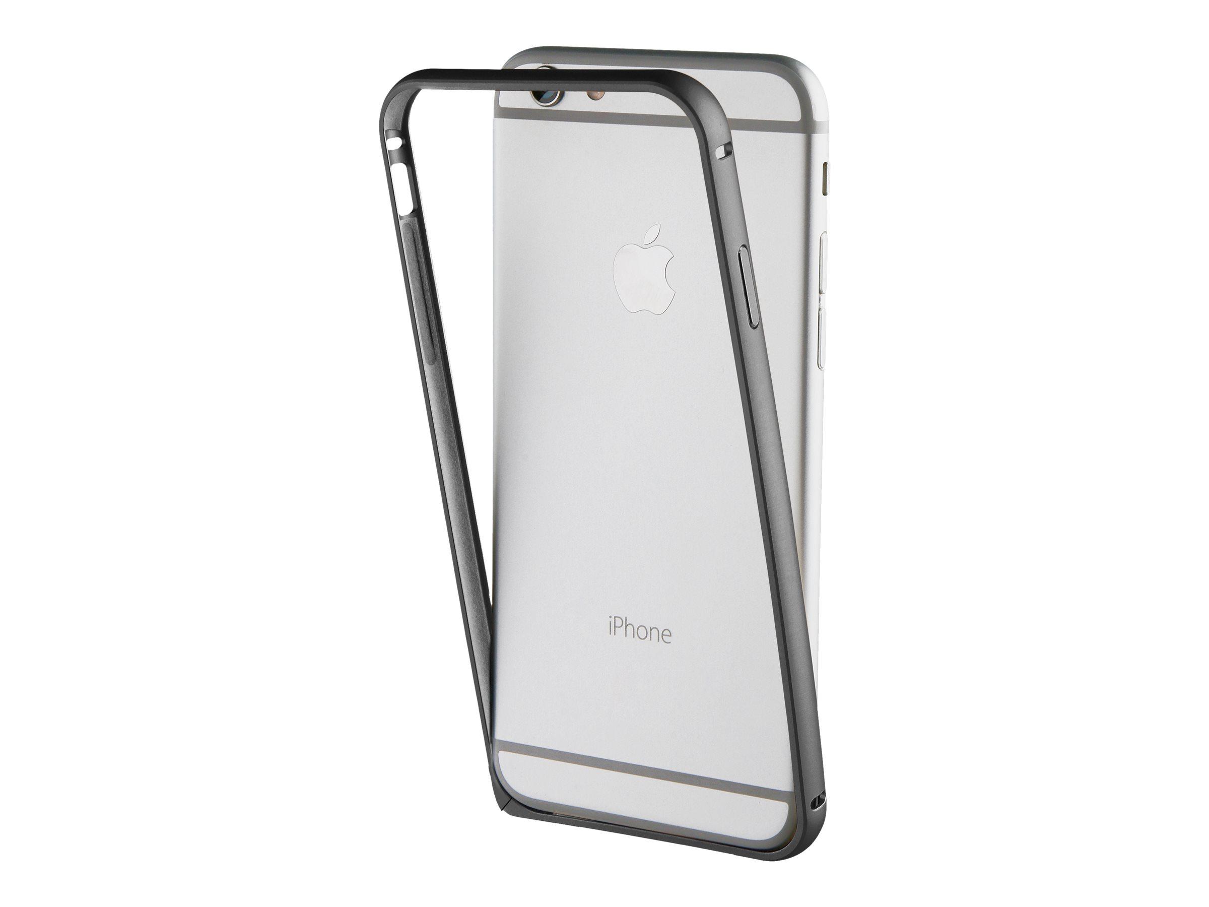 Muvit - coque pare-chocs pour iPhone 7 - noir