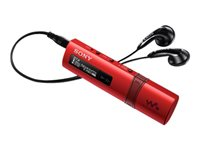 SONY MP3 ROJO 4.00GB USB 2.0 RADIO FM CARGA RAPIDA