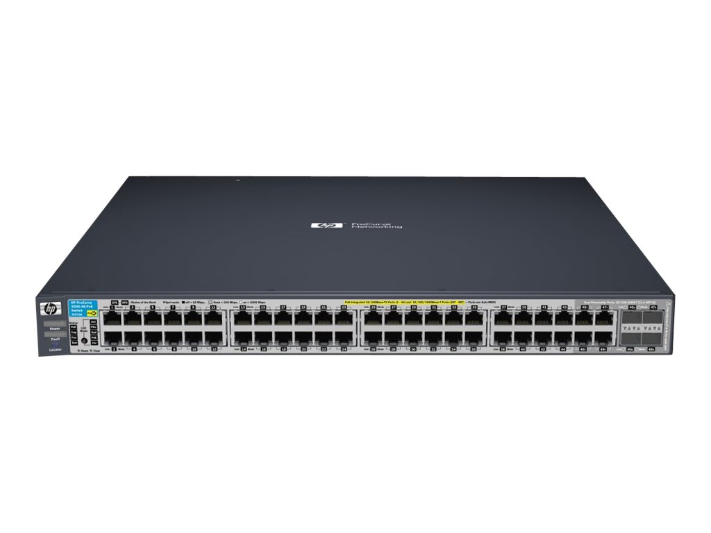 hp j9473a procurve 3500 48 poe switch comms express. Black Bedroom Furniture Sets. Home Design Ideas