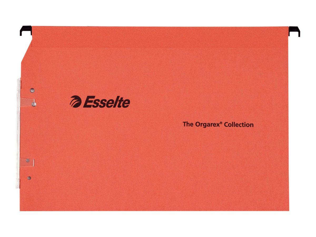 Esselte Orgarex Kori L.M.G - 25 Dossiers suspendus - 30 mm - pour armoire - orange