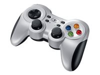 Logitech Wireless Gamepad F710 Gamepad 10 knapper trådløs 2.4 GHz