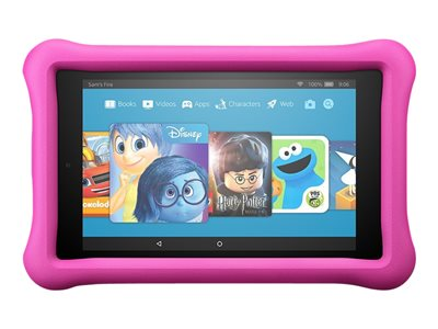 """Amazon Fire HD 8 Kids Edition - Tablet - Fire OS 5.3.3 - 32 GB - 8"""" IPS (1280 x 800) - microSD slot - pink"""