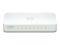 dlinkgo 8-Port Fast Ethernet Easy Desktop Switch GO-SW-8E Switch