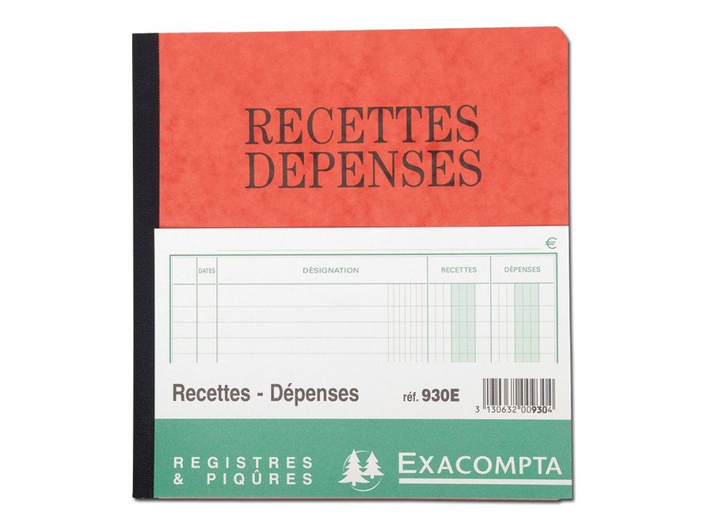 Exacompta - recettes/dépenses