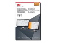 3M Gold Privacy Filter GF215W9B - filtre anti-indiscrétion - Largeur 21,5 pouces