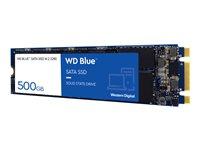 WD SSD Blue 500gb M2 Int SATA3 3D