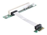 DeLOCK Riser card PCI Express x1 > PCI 32Bit 5 V with flexible cable