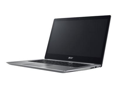 """Acer Swift 3 - Core i5 8250U / 1.6 GHz - Win 10 Home 64-bit - 8 GB RAM - 256 GB SSD - 14"""" IPS 1920 x 1080 (Full HD) - UHD Graphics 620 - Wi-Fi, Bluetooth - sparkly silver - kbd: US International"""