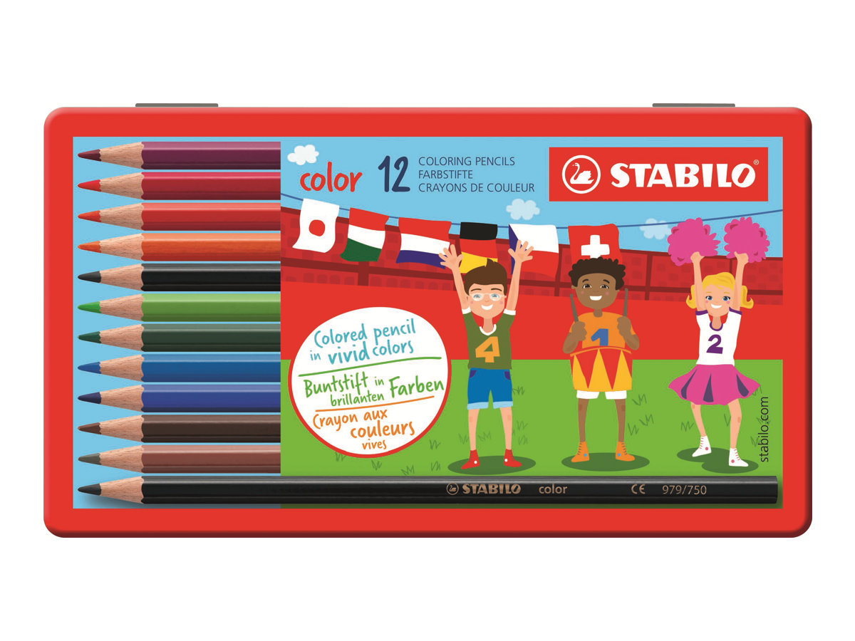 Stabilo color Swano - crayon de couleur