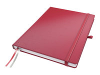 LEITZ, Notebook Complete A4 squared red