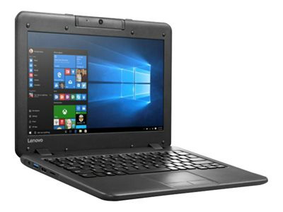 "Lenovo N22 80S6 - Celeron N3060 / 1.6 GHz - Win 10 Pro 64-bit - 4 GB RAM - 64 GB eMMC - 11.6"" 1366 x 768 (HD) - HD Graphics - Wi-Fi"
