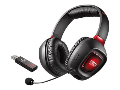Creative Sound Blaster Tactic3D Rage Wireless V2.0 - Headset - 7.1 channel - full size - wireless - radio