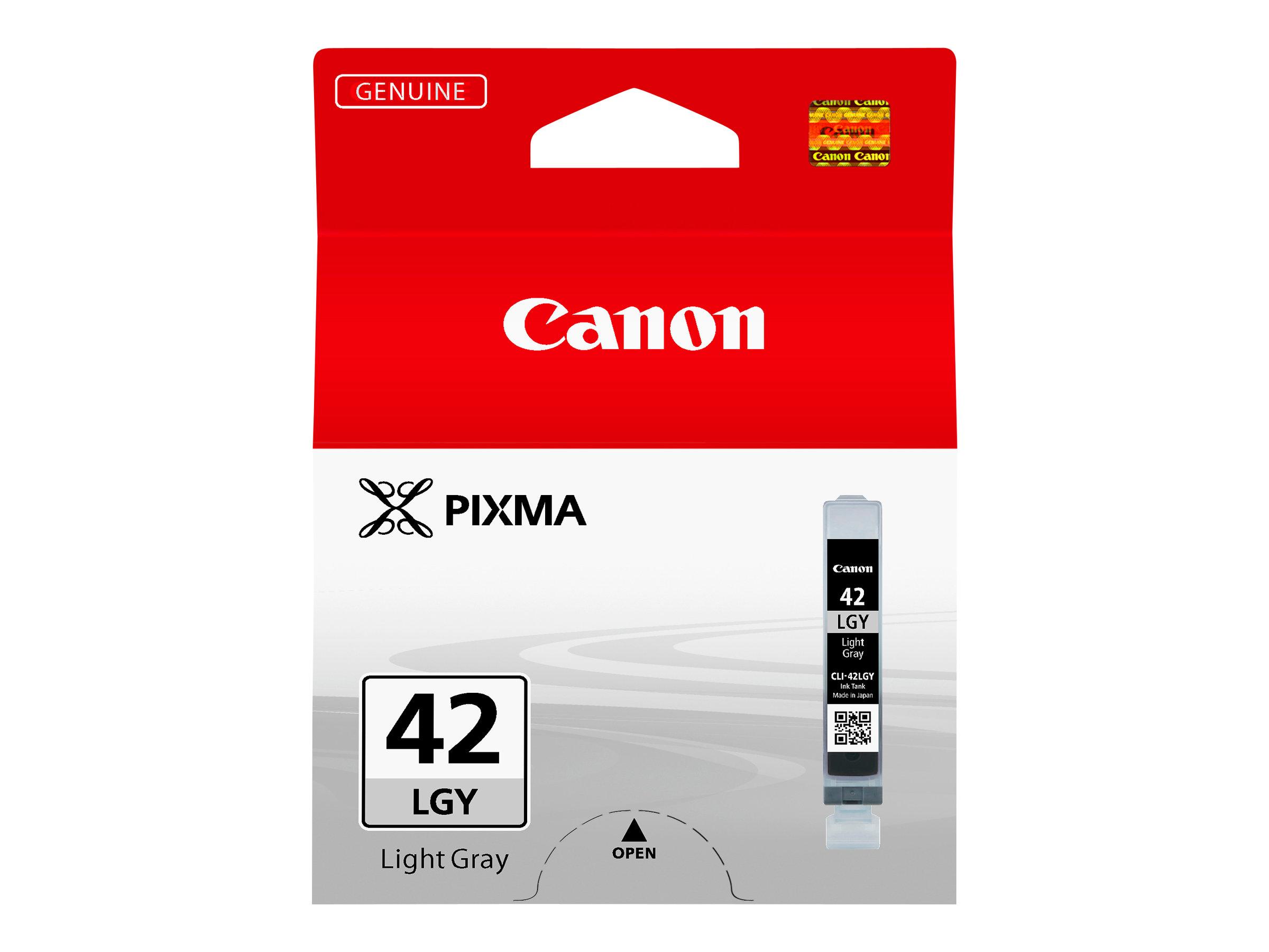 Canon CLI-42LGY - gris clair par coloration - originale - réservoir d'encre
