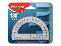 Maped - Rapporteur - 12 cm - aluminium