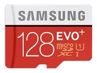 SAMSUNG, Micro SD Card EVO+128GB