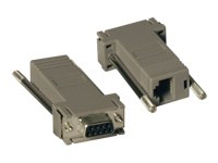 Tripp Lite Null Modem Serial RS232 Modular Adapter Kit 2x DB9F to RJ45F